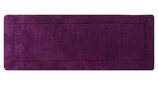 "Leora Table Runner (Purple, 56 x 140 cm (22"" x 55"") Table Linen Size) by Urban Ladder - Design 1 Details - 309231"