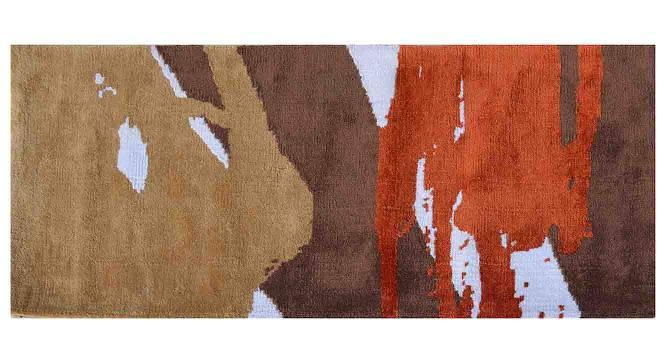 "Domenico Table Runner (Orange, 56 x 140 cm (22"" x 55"") Table Linen Size) by Urban Ladder - Design 1 Details - 309344"