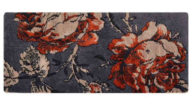 "Rosa Table Runner (Orange, 56 x 140 cm (22"" x 55"") Table Linen Size) by Urban Ladder - Design 1 Details - 309362"