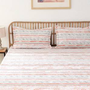 Meghwal Bedsheet Set (Grey, King Size) by Urban Ladder - Design 1 Full View - 310988