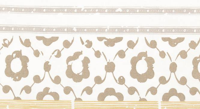 "Valleri Table Cover (Beige, 150 x 150 cm  (60"" x 60"") Size) by Urban Ladder - Front View Design 1 - 312110"