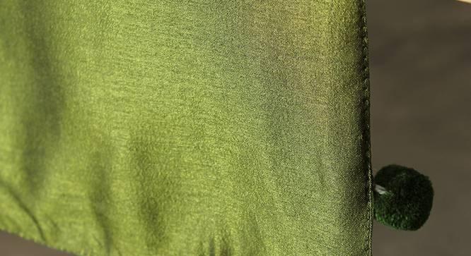 Hariya Table Runner (Green, Abstract Design) by Urban Ladder - Design 1 Close View - 312152