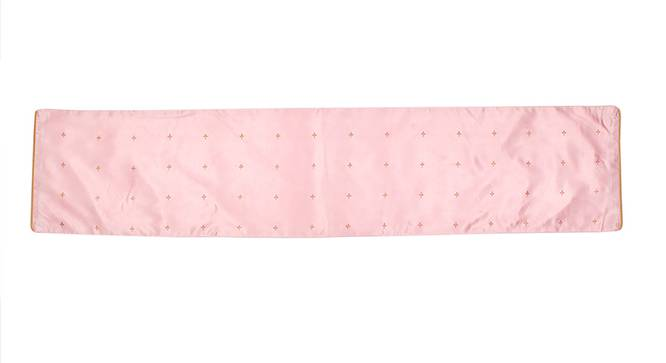 Jaleb Chowk Table Runner (Pink, Abstract Design) by Urban Ladder - Front View Design 1 - 312154