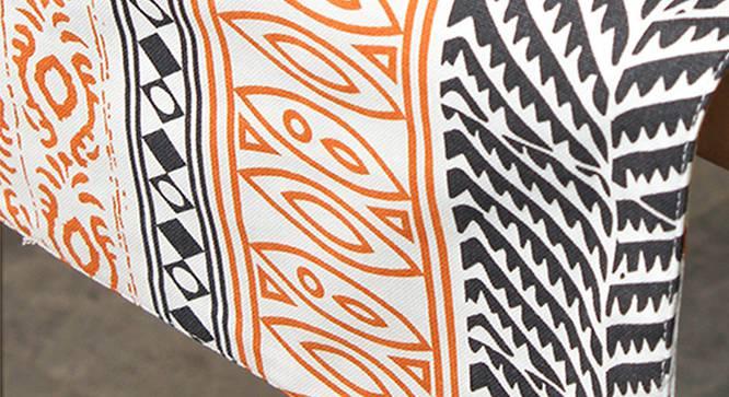 Nakshi Table Runner (Orange, Abstract Design) by Urban Ladder - Design 1 Close View - 312166