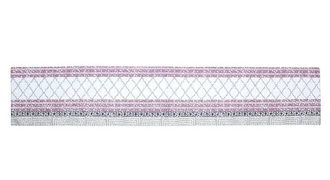 Nikrinta Table Runner (Purple, Abstract Design) by Urban Ladder - Front View Design 1 - 312172
