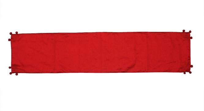 Ratua Table Runner (Red, Abstract Design) by Urban Ladder - Front View Design 1 - 312175