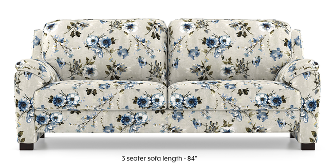 Farina Sofa (Adrian Velvet) (1-seater Custom Set - Sofas, None Standard Set - Sofas, Fabric Sofa Material, Regular Sofa Size, Regular Sofa Type, Adrian Velvet)