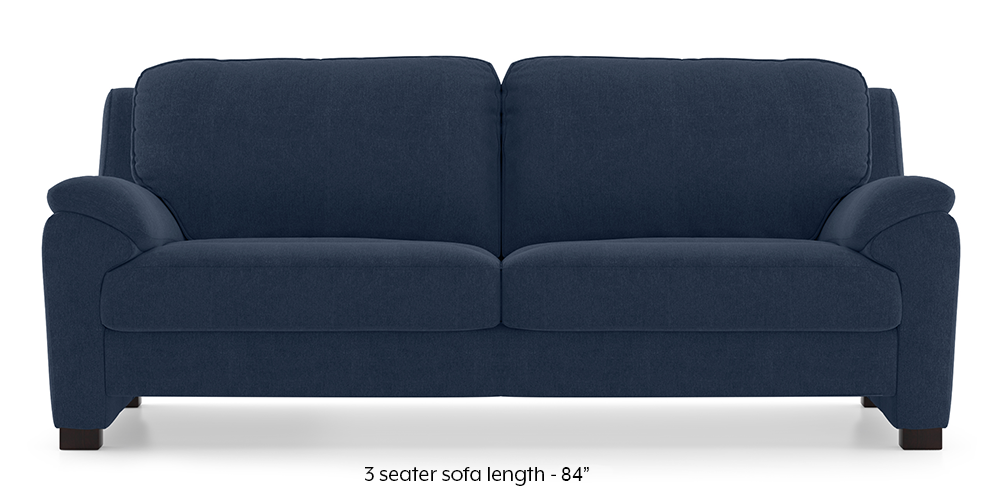 Farina Sofa (Lapis Blue) by Urban Ladder - -