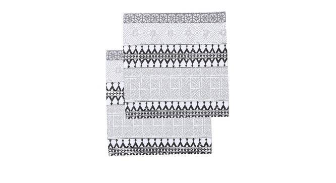 Alankaar Napkin (Black, Set Of 2 Set) by Urban Ladder - Design 1 Full View - 312409