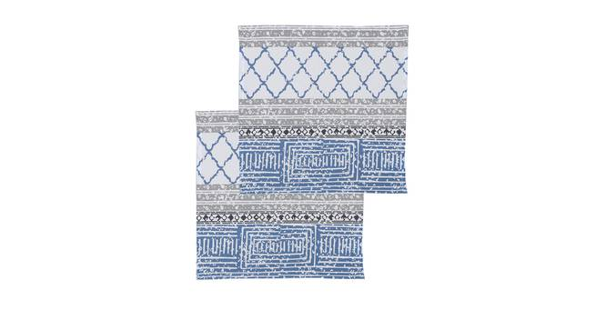 Nikrinta Napkin (Blue, Set Of 2 Set) by Urban Ladder - Design 1 Full View - 312427