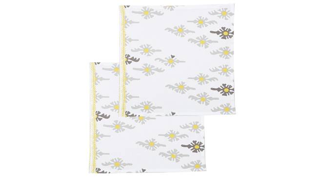 Mrinaal Napkin (Yellow, Set Of 2 Set) by Urban Ladder - Design 1 Full View - 312451