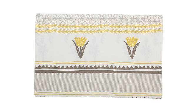 Mrinaal Table Mat (Yellow, Set Of 2 Set) by Urban Ladder - Front View Design 1 - 312489