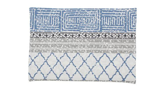 Nikrinta Table Mat (Blue, Set Of 2 Set) by Urban Ladder - Front View Design 1 - 312512