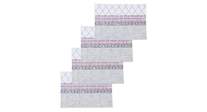 Nikrinta Table Mat (Purple, Set Of 4 Set) by Urban Ladder - Design 1 Full View - 312525