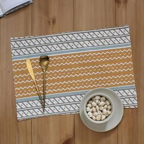 Sarovar Table Mat (Beige, Set Of 2 Set) by Urban Ladder - Design 1 Full View - 312534