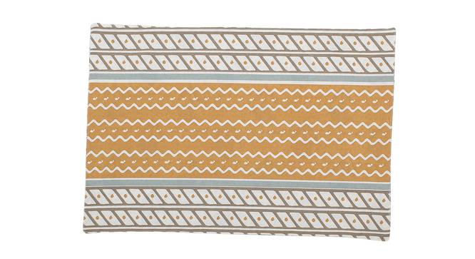 Sarovar Table Mat (Beige, Set Of 2 Set) by Urban Ladder - Front View Design 1 - 312537