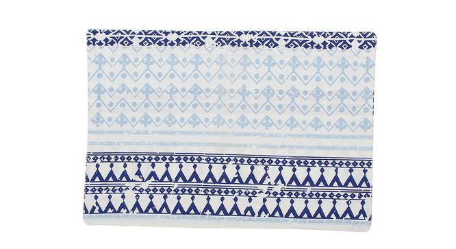 Valleri Table Mat (Blue, Set Of 4 Set) by Urban Ladder - Front View Design 1 - 312539
