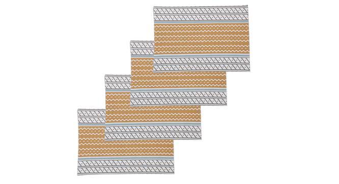 Sarovar Table Mat (Beige, Set Of 4 Set) by Urban Ladder - Design 1 Full View - 312551