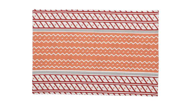 Sarovar Table Mat (Red, Set Of 4 Set) by Urban Ladder - Front View Design 1 - 312556