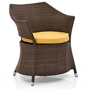 Calabah Patio Armchair (Brown) by Urban Ladder - Design 1 Full View - 312602