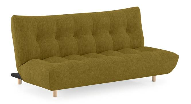 Palermo Sofa Cum Bed (Olive Green) by Urban Ladder - Cross View Design 1 - 312735
