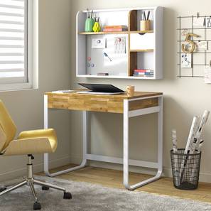 Pinto Study Table (Two-Tone Finish) by Urban Ladder - Design 1 Full View - 312755