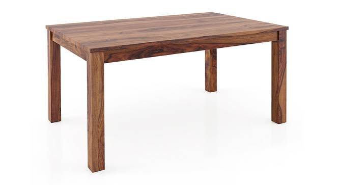 Arabia 6 Seater Dining Table (Teak Finish) by Urban Ladder - Design 1 Side View - 312898