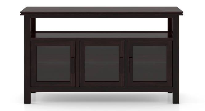 Rhodes Wide 3 Door Sideboard (Mahogany Finish) by Urban Ladder - Front View Design 1 - 313124