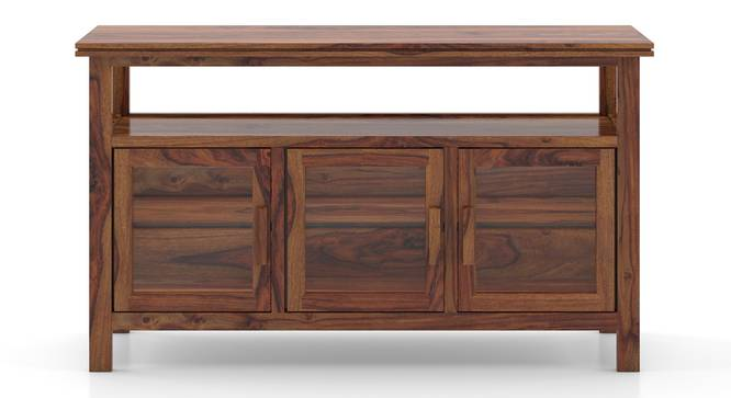 Rhodes Wide 3 Door Sideboard (Teak Finish) by Urban Ladder - Front View Design 1 - 313132