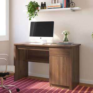 Graham Study Table (Classic Walnut Finish) by Urban Ladder - Design 1 Full View - 313272