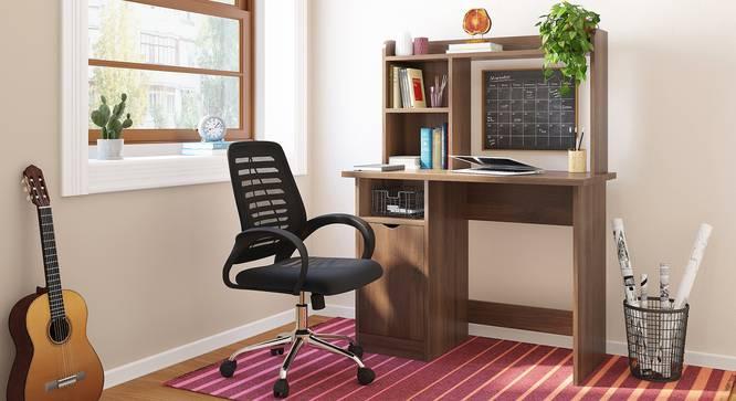 Bond Study Table (Classic Walnut Finish) by Urban Ladder - Design 1 Full View - 313280