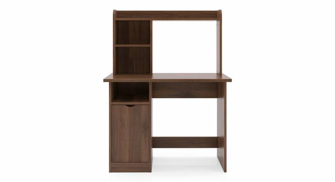 Bond Study Table (Classic Walnut Finish) by Urban Ladder - Front View Design 1 - 313281