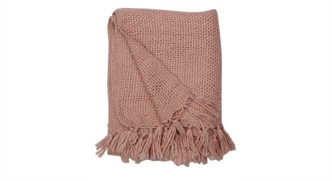 Gulab Throw (Pink) by Urban Ladder - Design 1 Zoomed Image - 313307