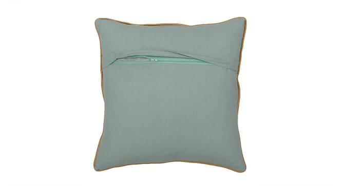 "Jaleb Chowk Cushion Cover (Blue, 41 x 41 cm  (16"" X 16"") Cushion Size) by Urban Ladder - Rear View Design 1 - 313311"