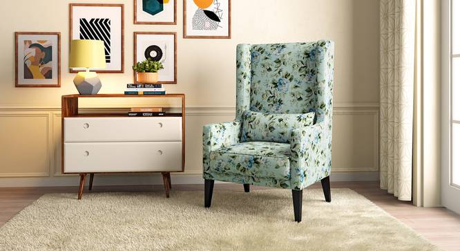 Morgen Wing Chair (Gardenia) by Urban Ladder - Full View Design 1 - 313318