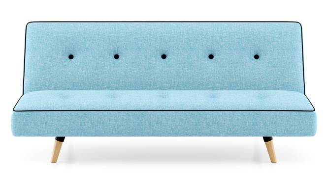 Zehnloch Sofa Cum Bed (Glacier Blue) by Urban Ladder - Front View Design 1 - 313340