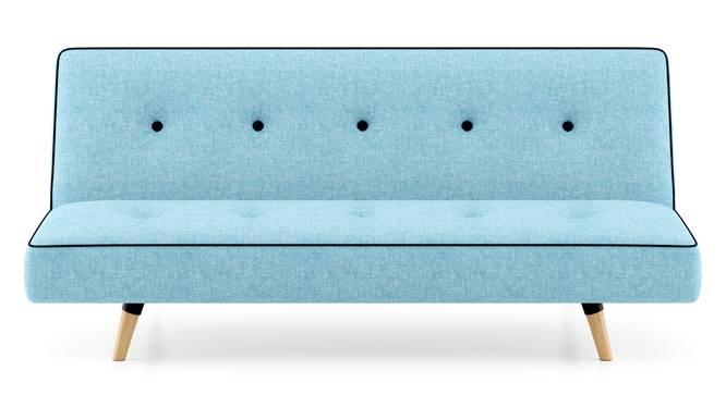 Zehnloch Sofa Cum Bed (Glacier Blue) by Urban Ladder - Front View Design 1 - 313340