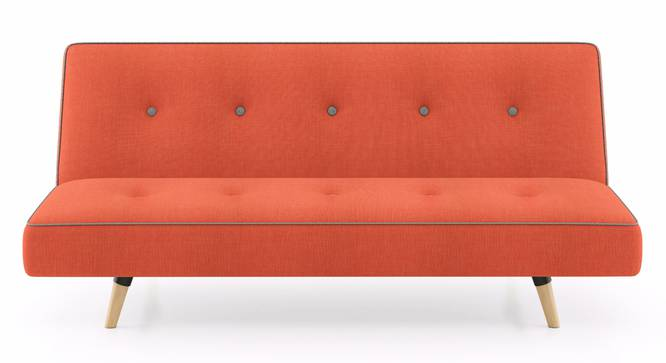 Zehnloch Sofa Cum Bed (Glory Rust) by Urban Ladder - Front View Design 1 - 313352
