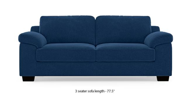 Esquel Sofa (Cobalt Blue) (1-seater Custom Set - Sofas, None Standard Set - Sofas, Cobalt, Fabric Sofa Material, Regular Sofa Size, Regular Sofa Type)