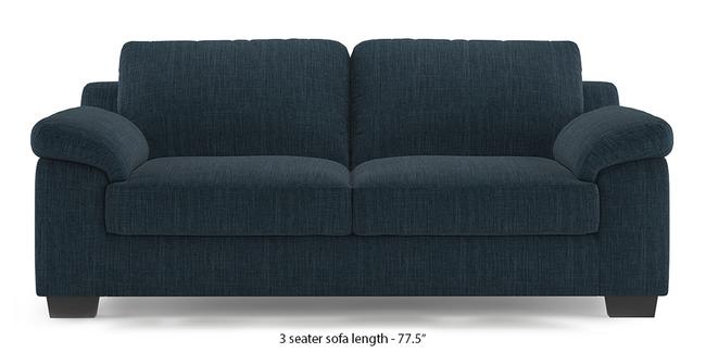 Esquel Sofa (Indigo Blue) (1-seater Custom Set - Sofas, None Standard Set - Sofas, Indigo Blue, Fabric Sofa Material, Regular Sofa Size, Regular Sofa Type)