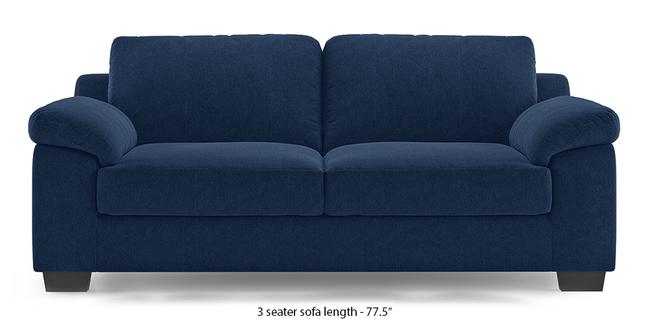 Esquel Sofa (Lapis Blue) (1-seater Custom Set - Sofas, None Standard Set - Sofas, Fabric Sofa Material, Regular Sofa Size, Regular Sofa Type, Lapis Blue)