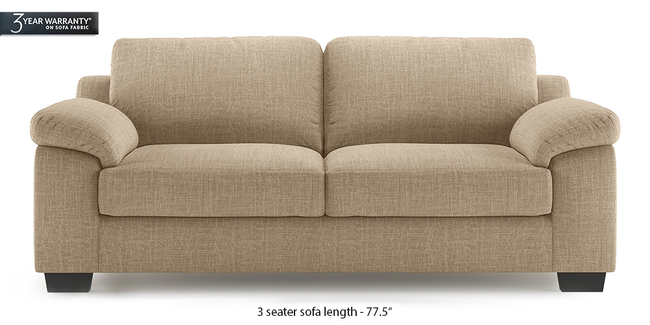 Esquel Sofa (Sandshell Beige) (1-seater Custom Set - Sofas, None Standard Set - Sofas, Fabric Sofa Material, Regular Sofa Size, Regular Sofa Type, Sandshell Beige)