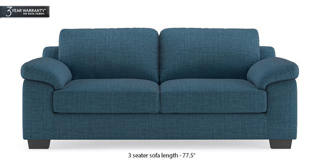 Esquel Sofa (Colonial Blue) (1-seater Custom Set - Sofas, None Standard Set - Sofas, Fabric Sofa Material, Regular Sofa Size, Regular Sofa Type, Colonial Blue)