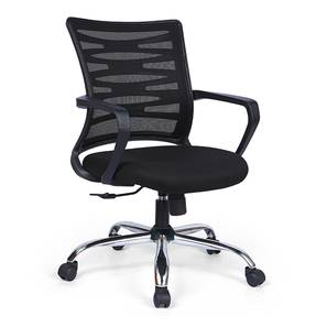 Dorsey Study Chair (Black) by Urban Ladder - Design 1 - 313842