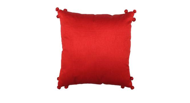 "Ratua Cushion Cover (Rust, 41 x 41 cm  (16"" X 16"") Cushion Size) by Urban Ladder - Front View Design 1 - 313858"