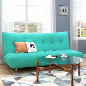 Palermo Sofa Cum Bed (Lagoon Green) by Urban Ladder - Design 1 Full View - 313909