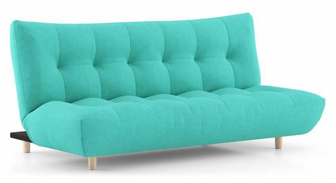 Palermo Sofa Cum Bed (Lagoon Green) by Urban Ladder - Cross View Design 1 - 313910