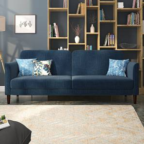 Felicity Sofa Cum Bed (Indigo Blue) by Urban Ladder - Design 1 Full View - 313955