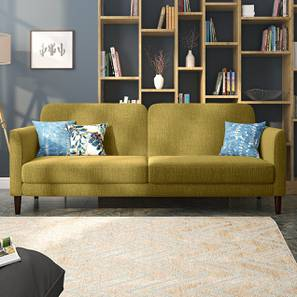 Felicity Sofa Cum Bed (Olive Green) by Urban Ladder - Design 1 Full View - 313965