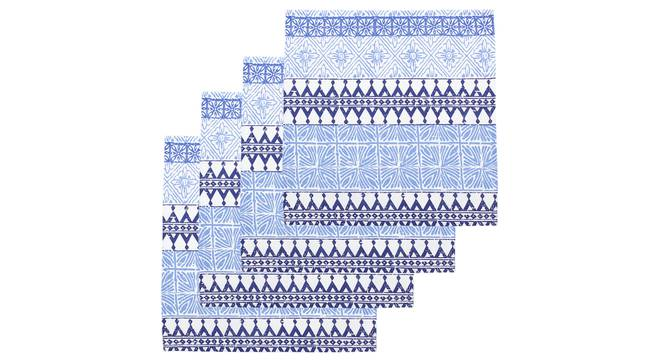 Valleri Napkin (Blue, Set Of 4 Set) by Urban Ladder - Design 1 Full View - 314093